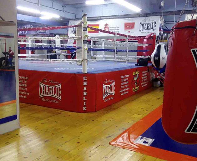 Gimnasio de Boxeo en Madrid El Rayo