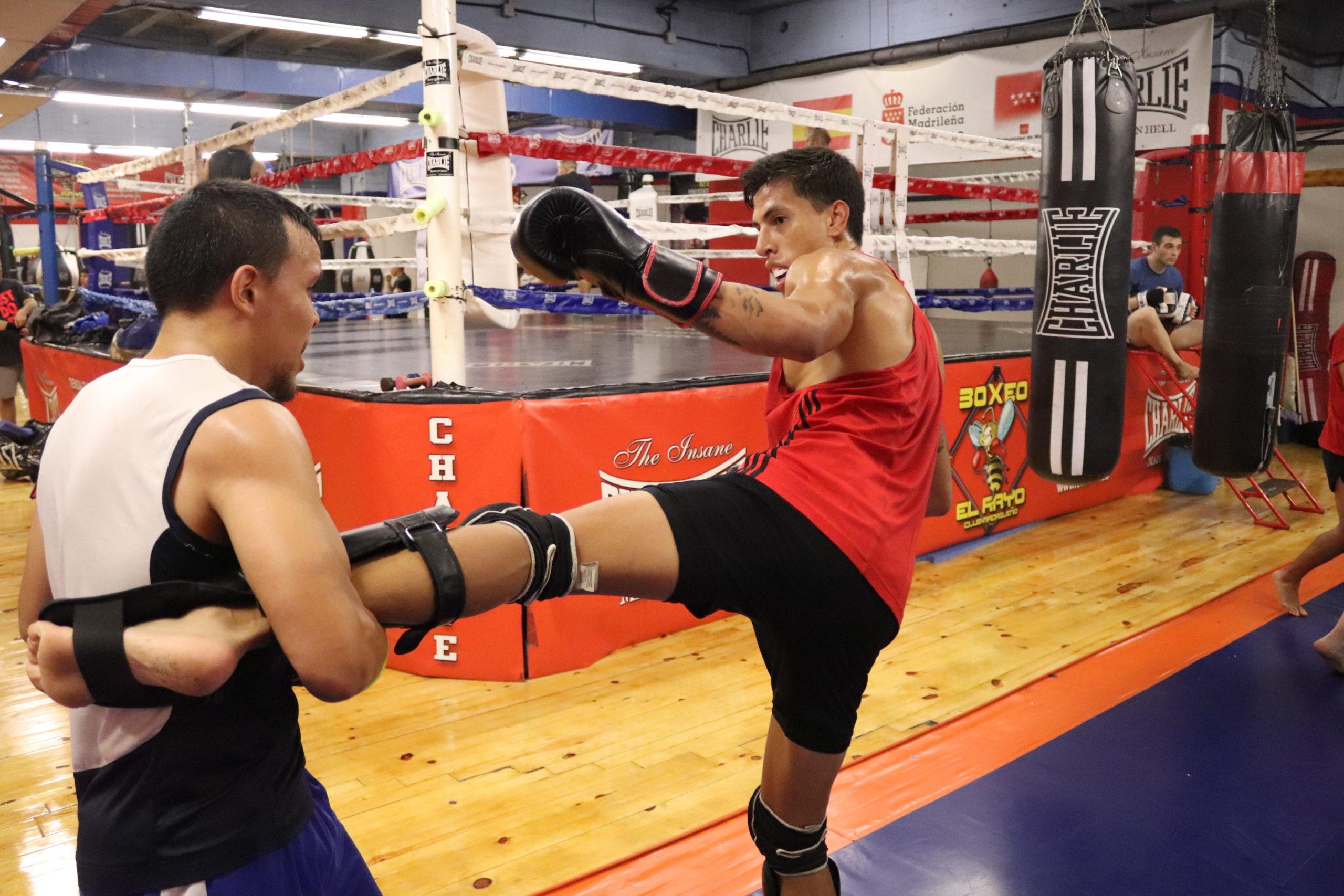 Entrenamiento de Kick Boxing en Madrid