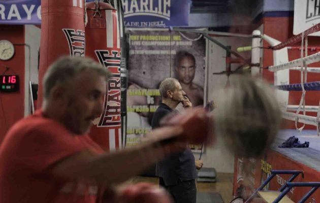 entrenando-boxeo